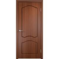 Межкомнатная дверь Лидия глухая итальянский орех