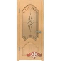 Межкомнатная дверь ВФД Венеция дуб(11до1)