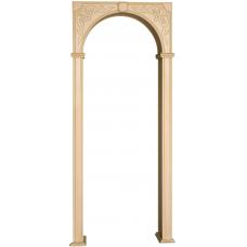 арка заказная квадратная
