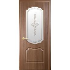 Межкомнатная дверь Фортис классика ольха стекло