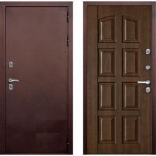 Коттеджная Дверь с терморазрывом Kvadra грецкий орех