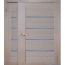 Двухстворчатая  дверь из Экошпона
