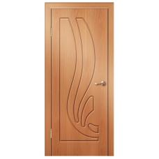 Межкомнатная дверь Риф глухая миланский орех