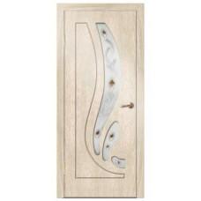 Межкомнатная дверь Риф стекло седой дуб