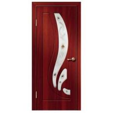 Межкомнатная дверь Риф стекло итальянский орех