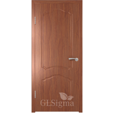 Межкомнатная дверь Сигма глухая Итальянский орех