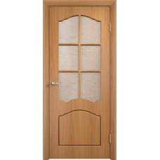 Межкомнатная дверь Лидия стекло миланский орех