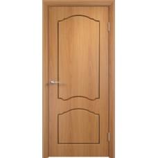 Межкомнатная дверь Лидия глухая миланский орех