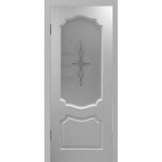 Межкомнатная дверь GLSigma остекленная  Белая