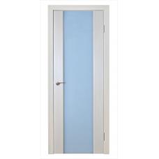 Межкомнатная дверь Триплекс 2 каппучино