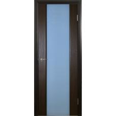 Межкомнатная дверь Триплекс 2 африканский орех