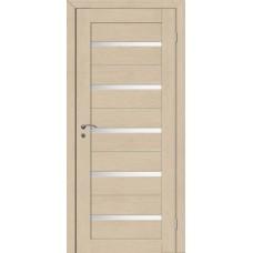 Межкомнатная дверь Грация 1 лиственница белое стекло