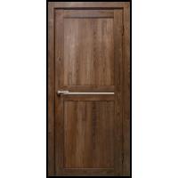 Межкомнатная дверь Вектор дуб шоколадный