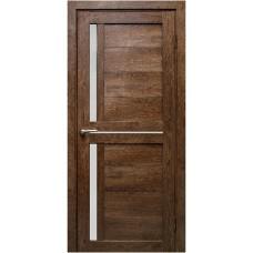 Межкомнатная дверь Медиана дуб шоколадный
