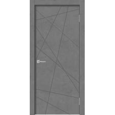 Дверь GEOMETRY 1 бетон графит