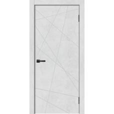 Дверь GEOMETRY 1 бетон снежный