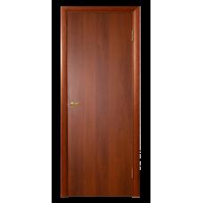 Межкомнатная дверь Гладкая глухая итальянский орех