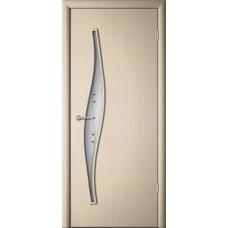 Межкомнатная дверь ДверЛайн Волна премиум итальянский орех