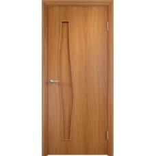 Межкомнатная дверь Волна глухая миланский орех