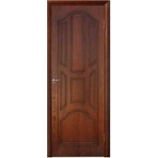 Межкомнатная дверь Ампир глухой мореный дуб