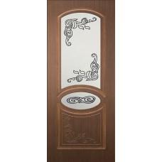 Межкомнатная дверь Каролина стекло