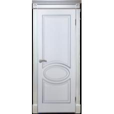 ДГ Дверь с Патиной Элен Белый ясень