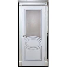ДО Дверь с Патиной Элен Белый ясень