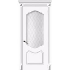 Дверь  Симфония белая эмаль