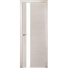 Межкомнатная дверь Модерн 507 ива стекло белое