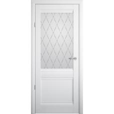 """Дверь  РИМ """"Vinyl''белый"""