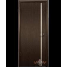 Межкомнатная дверь ВФД триплекс венге (8доу4)