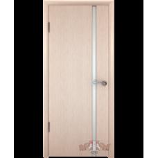 Межкомнатная дверь ВФД триплекс дуб беленый (8доу5)