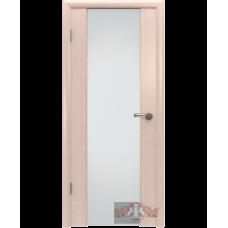 Межкомнатная дверь ВФД триплекс дуб беленый (8до5тр)