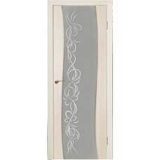 Дверь Волна Капучино