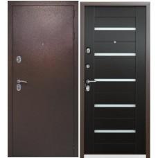 Входная дверь Квадро (3 притвора) венге