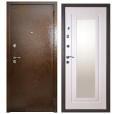 Входная дверь АРГУС 7 беленый дуб