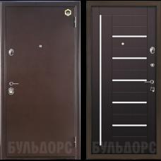 Входная дверь Бульдорс  молдинг Венге