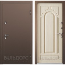 Входная дверь Бульдорс  Термо Беленый дуб