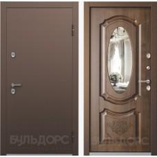 Входная дверь Бульдорс  Термо  Грецкий орех