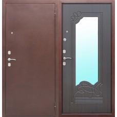 Входная дверь Ампир Зеркало Венге