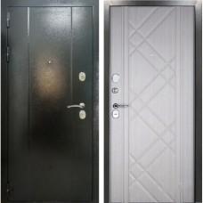 Входная дверь Эталон 30 беленый дуб