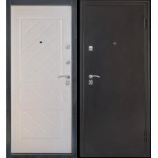 Входная дверь Стандарт эко беленый дуб