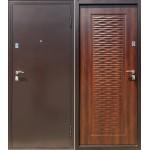 Входная дверь Волна Дуб морёный