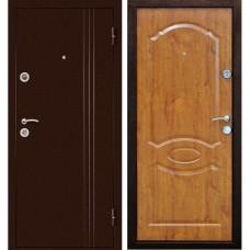 Входная дверь Экстра золотая