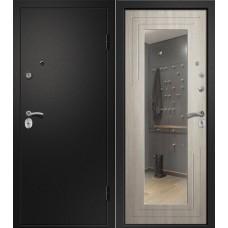 Аризона Черный шелк/Дуб крем с зеркалом
